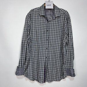 Bugatchi Shaped-Fit Button Down